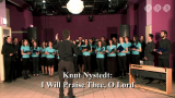 Knut Nystedt - I Will Praise Three, O Lord (Silentio kórus, 2012)