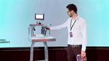 Simonyi Konferencia 2018 - Mónika - humanoid robotok a kifutón!