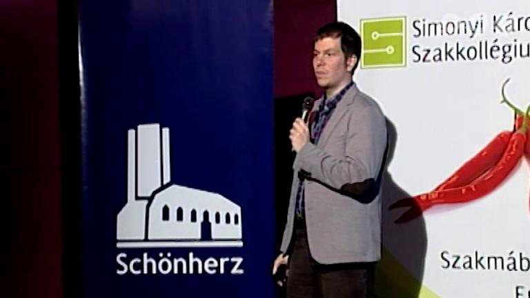 Schönherz Meetup 2015 - Kvantumkommunikáció: izgalmas jelen, rejtelmes jövő